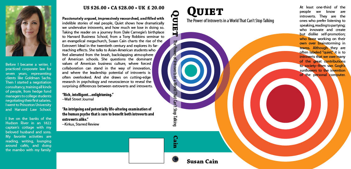 Quiet Book cover version #1