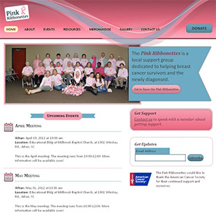 Pink Ribbonettes website thumb