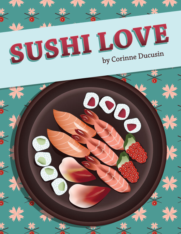 Sushi book cover