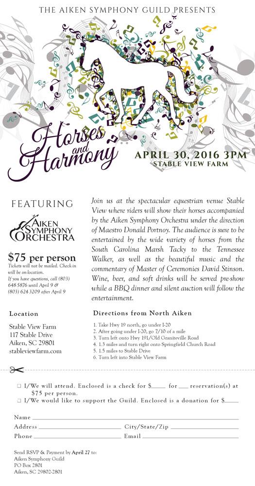 Horses & Harmony Ad
