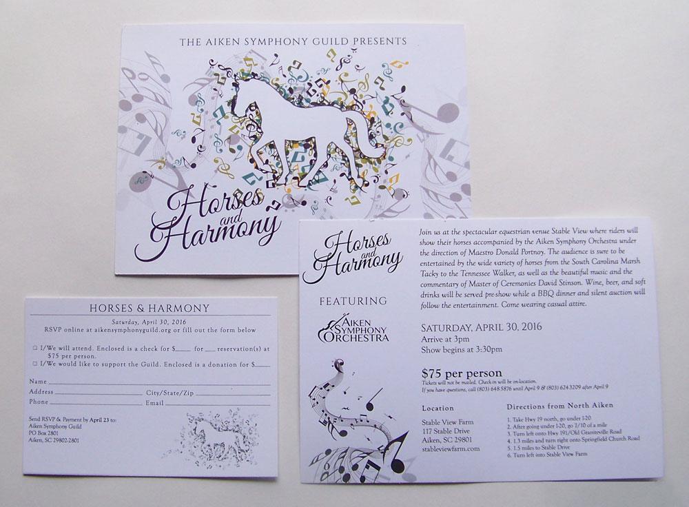Horses & Harmony Invite