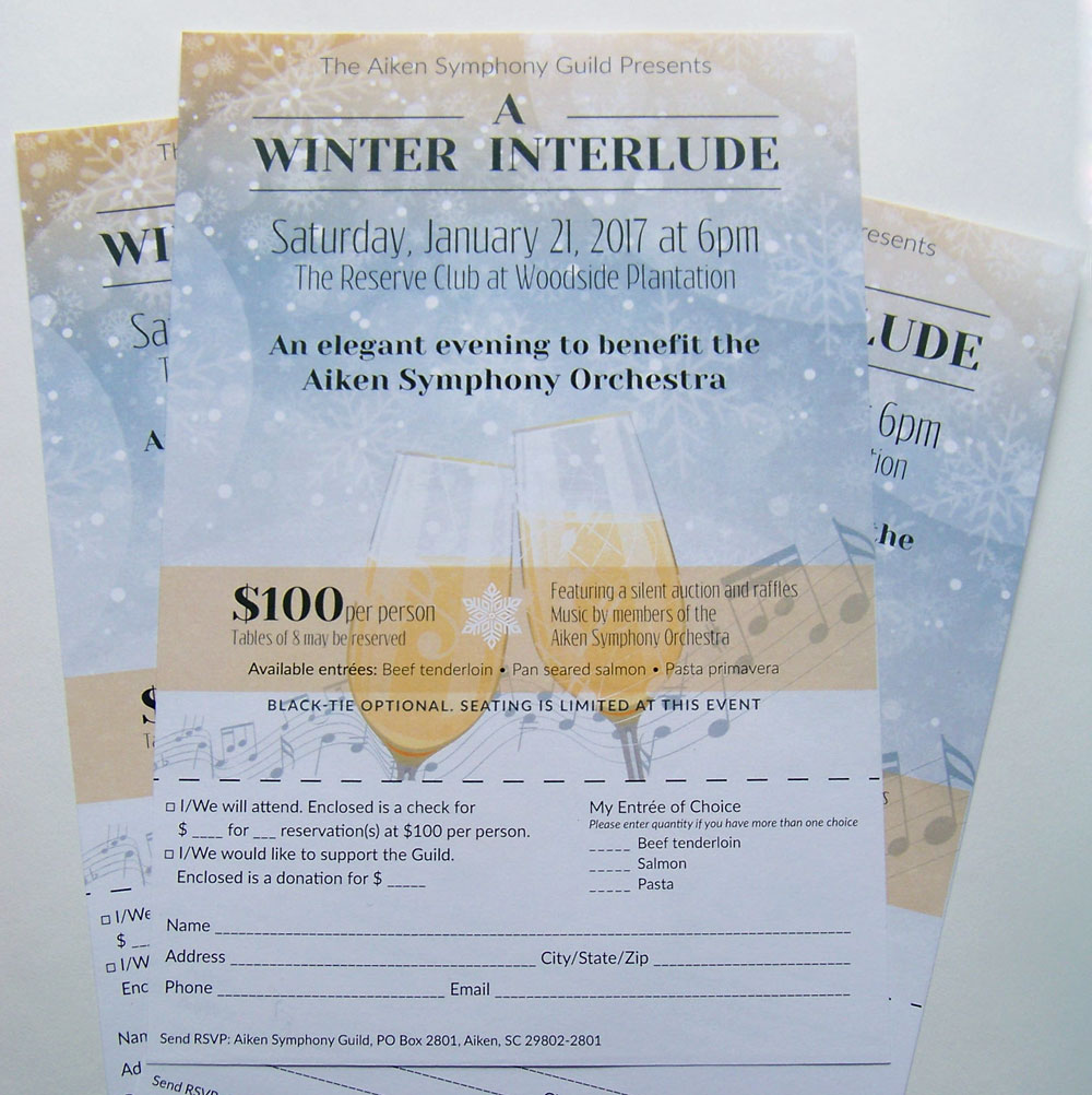 A Winter Interlude Flyer