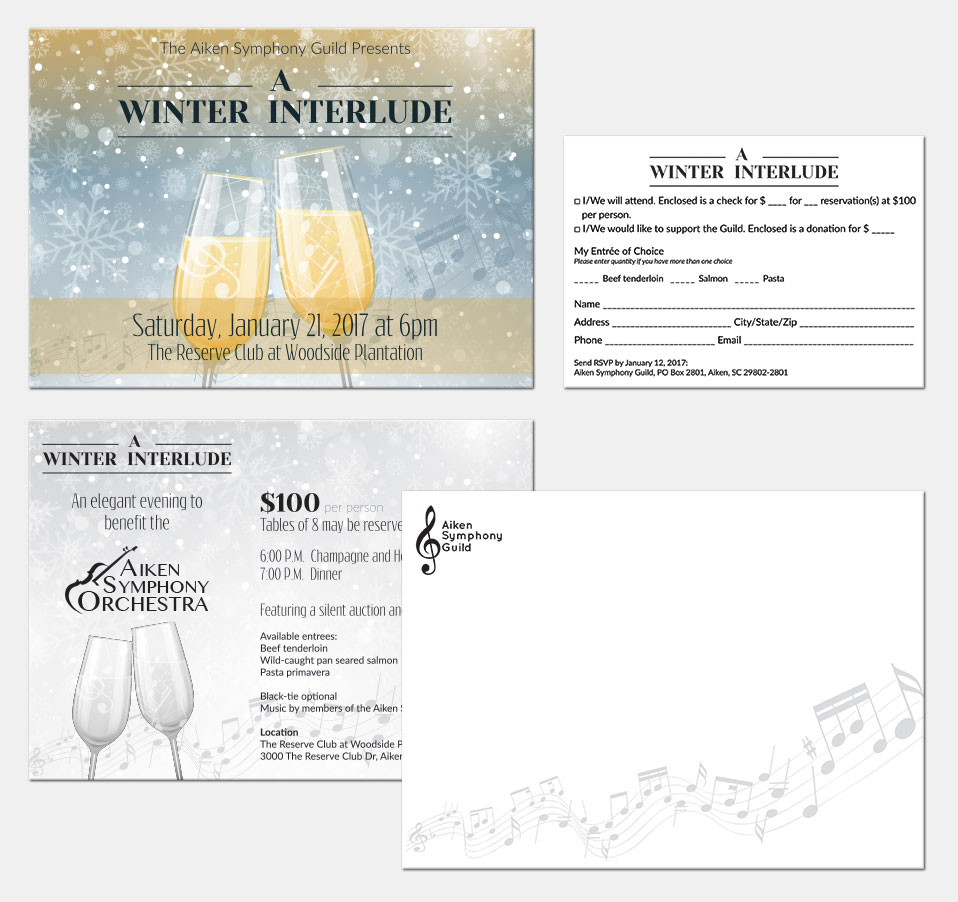 A Winter Interlude Invitation