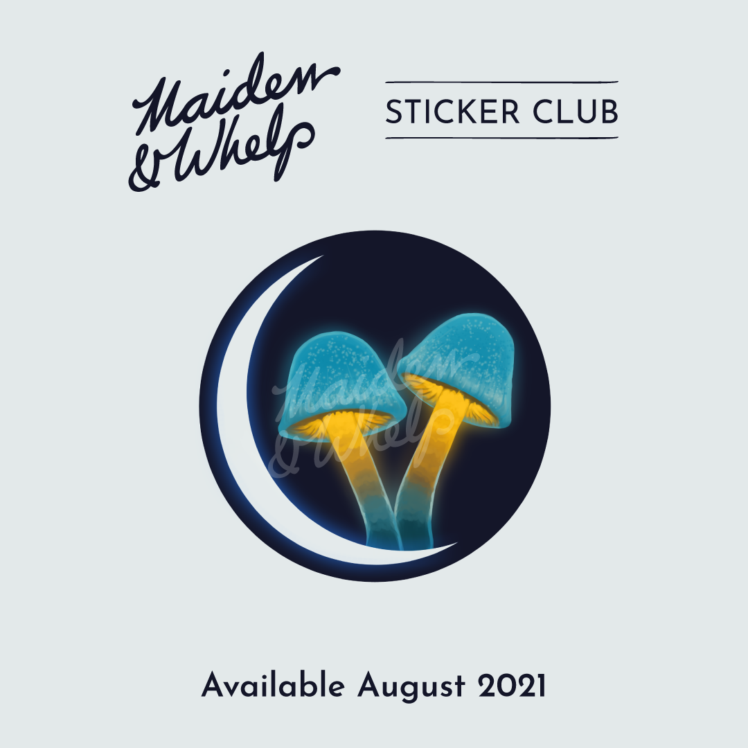 Sticker Club, August 2021