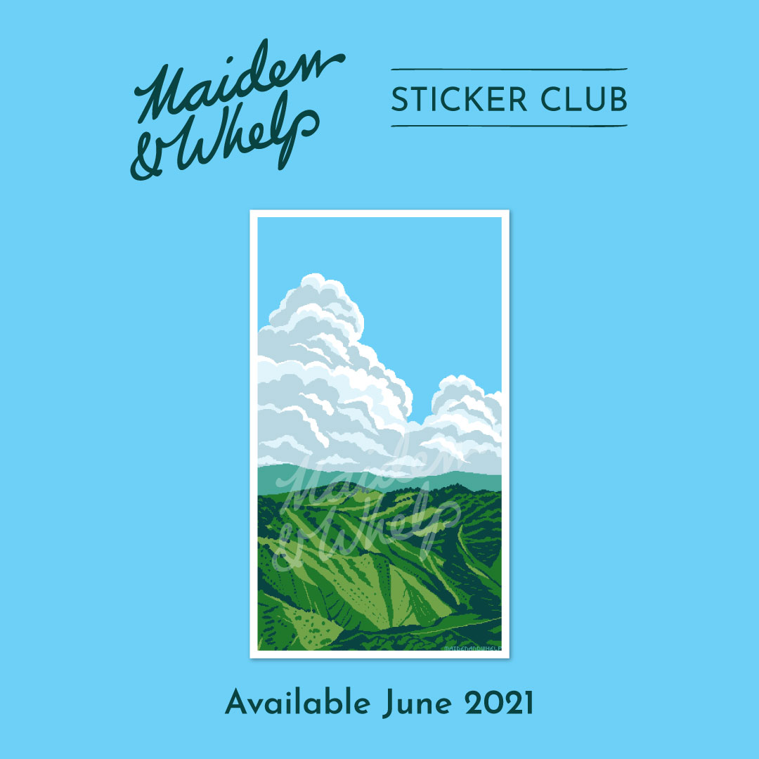 Sticker Club, June 2021
