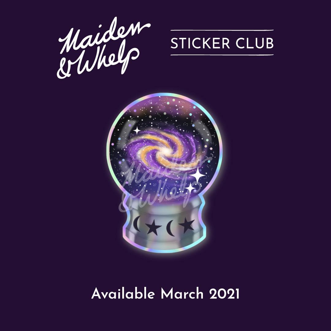 Sticker Club, March 2021