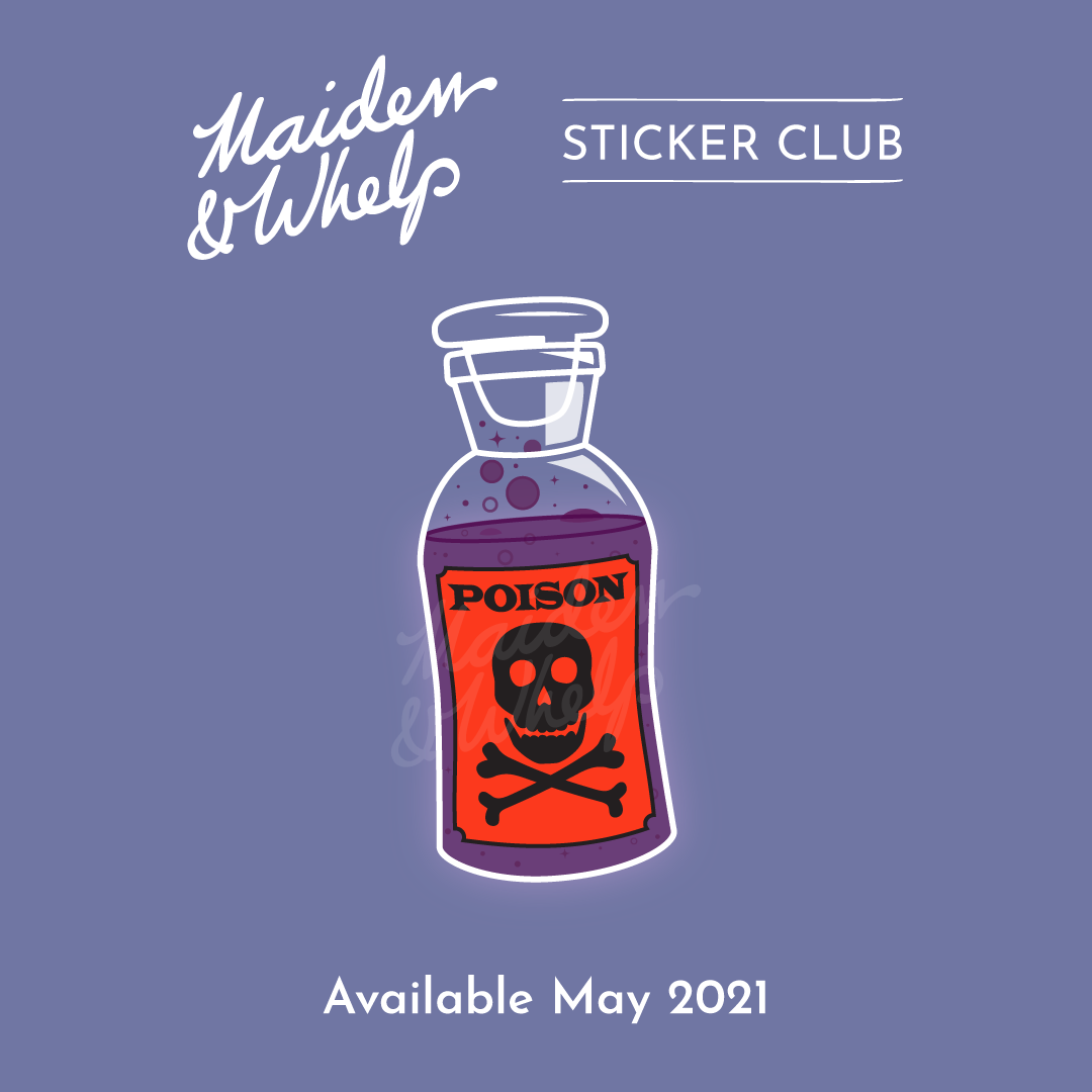 Sticker Club, May 2021
