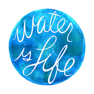 Water is life thumbnail